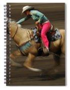Rodeo Riding A Hurricane 2 Spiral Notebook