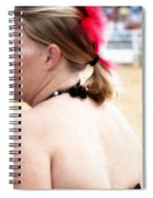 Rodeo Saloon Girl Profile Spiral Notebook