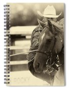 Rodeo The Cowboy Way Spiral Notebook