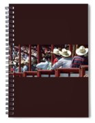 Rodeo Time Cowboys Spiral Notebook