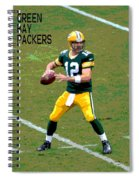 Aaron Rodgers Spiral Notebook