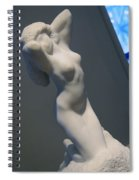 Rodin's Morning Spiral Notebook