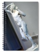 Rodin's The Vanguished -- 2 Spiral Notebook