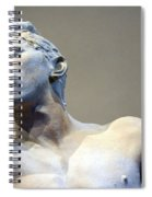 Rodin's The Vanguished Up Close Spiral Notebook