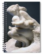 Rodin's Woman And Child Spiral Notebook