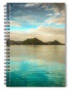 Rodney Bay Glow Spiral Notebook