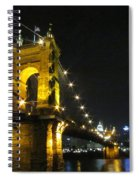 Roebling Bridge II Spiral Notebook