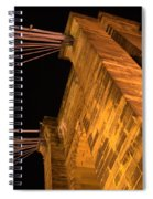 Roebling Tower I Spiral Notebook