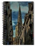 Cathedrale Saint-vincent-de-saragosse De Saint-malo Spiral Notebook