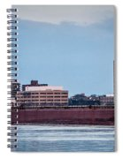 Roger Blough With Sarnia Skyline Spiral Notebook