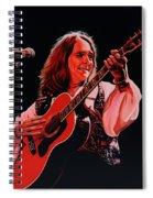 Roger Hodgson Of Supertramp Spiral Notebook