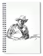 Roger In A Cowboy Hat Spiral Notebook