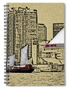 Roger's Centre And Tall Ship Spiral Notebook
