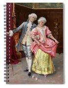 Rokokopaar Spiral Notebook