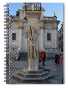 Roland's Column Spiral Notebook