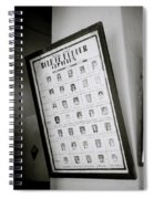Roll Of Honour Spiral Notebook