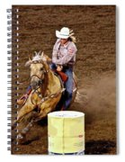Roll Out The Barrel Spiral Notebook