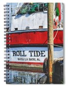 Roll Tide Stern Spiral Notebook