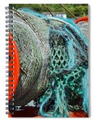 Rolled-up Nets Spiral Notebook