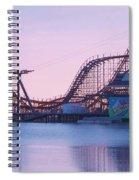 Roller Coaster Spiral Notebook