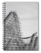 Roller Coaster Wildwood Spiral Notebook