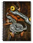Roller Skates Vintage 4 Spiral Notebook