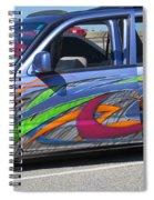 Rolling Art Lowrider Spiral Notebook