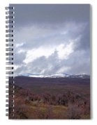 Rolling Clouds- Rolling Hills Spiral Notebook