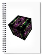 Rolling Cube Spiral Notebook