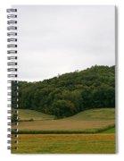 Rolling Fields Spiral Notebook