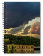 Storm Clouds Rolling In Spiral Notebook