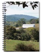 Rolling Landscape Spiral Notebook