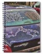 Rolling Multilingual Scripture Spiral Notebook