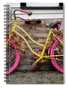 Rolling On Pink Spiral Notebook