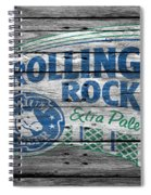 Rolling Rock Spiral Notebook