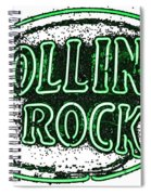 Rolling Rock Lager Spiral Notebook