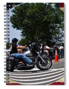 Rolling Thunder Salute Spiral Notebook