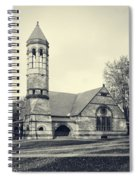 Rollins Chapel Dartmouth College Hanover New Hampshire Spiral Notebook
