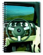 Rolls Royce 8 Spiral Notebook