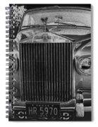 Rolls Royce Grill Spiral Notebook