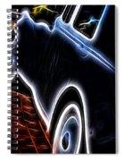 Rolls Royce In Black Spiral Notebook