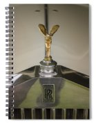 Rolls Royce Spiral Notebook