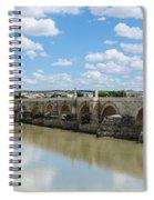 Roman Bridge Of Cordoba Spiral Notebook