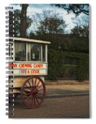 Roman Candy Wagon New Orleans Spiral Notebook