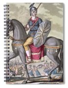 Roman Cavalryman Of The State Army Spiral Notebook