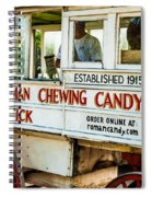Roman Chewing Candy Nola Spiral Notebook