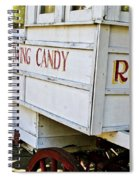 Roman Chewing Candy Spiral Notebook