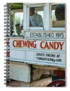 Roman Chewing Candy Wagon In New Orleans Spiral Notebook