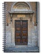 Roman Doors Spiral Notebook
