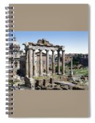Roman Forum Spiral Notebook